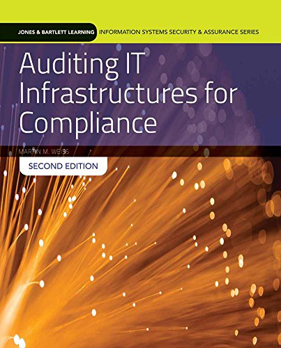 9781284090703: Auditing It Infrastructures for Compliance (Information Systems Security & Assurance)