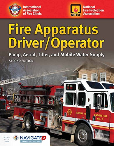 9781284091595: Fire Apparatus Driver/Operator: Pump, Aerial, Tiller, and Mobile Water Supply
