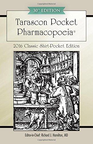 9781284095296: Tarascon Pocket Pharmacopoeia 2016 Classic Shirt-Pocket Edition