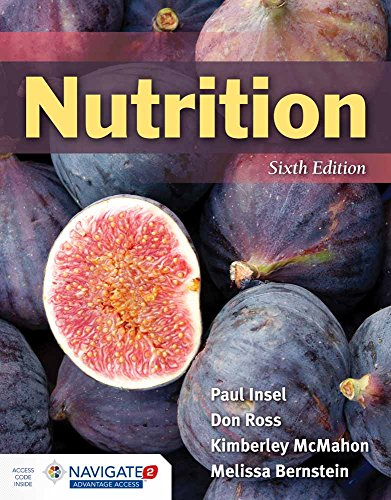 Nutrition 9781284100051 Each new print copy includes Navigate 2 Advantage Access that unlocks a comprehensive and interactive eBook, animations, student practice activities and assessments, a full suite of instructor resources, and learning analytics reporting tools. Written for majors and advanced non-majors, the Sixth Edition of Nutrition provides a modern, comprehensive introduction to nutrition concepts, guidelines, and functions. Its student-focused approach provides readers with the knowledge they need to make informed decisions about their overall nutrition. New & Key Features: - NEW - This text is among the first to highlight the findings and recommendations put forth in the 2015 Dietary Guidelines for Americans - UPDATED - Going Green and FYI boxes incorporate the latest nutrition-related research and news - NEW - The new Getting Personal feature encourages students to apply concepts to their own lives - NEW - Animations within the Navigate 2 eBook help simplify difficult concepts