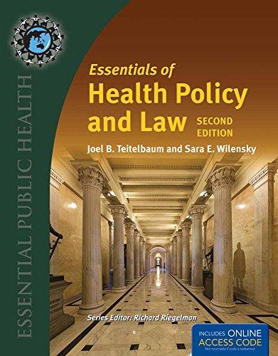 9781284110067: BUA- ESSEN OF HEALTH POLICY & LAW 2E/2016 ANNUAL UPDATE