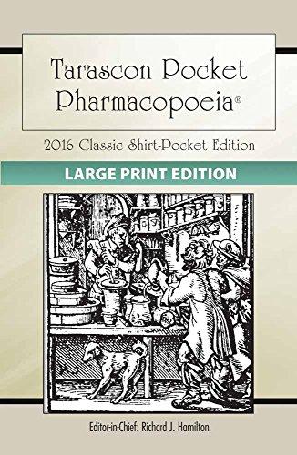 9781284110456: Large Print: Tarascon Pocket Pharmacopoeia 2016 Classic Shirt-Pocket Edition