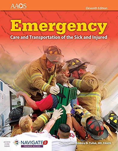 9781284110524: Emergency Care And Transportation Of The Sick And Injured (Orange Book)