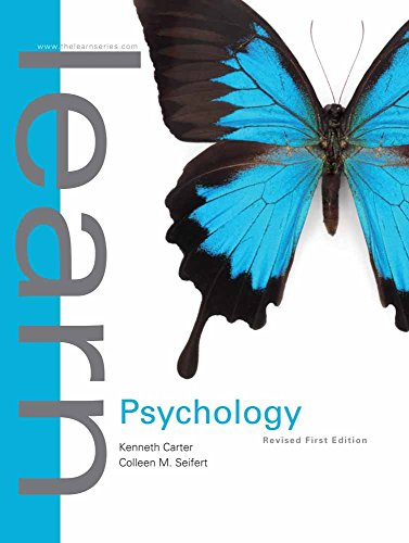 Learn Psychology: First Edition Revised: Carter, Dr. Kenneth