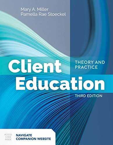 9781284142631: Client Education: Theory and Practice