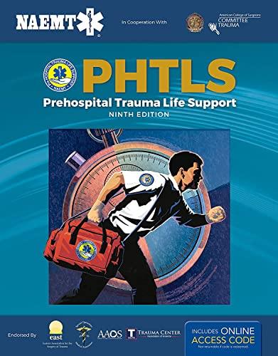 9781284171471: PHTLS: Prehospital Trauma Life Support