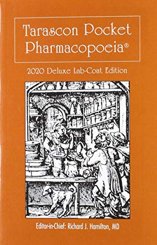 9781284196160: Tarascon Pocket Pharmacopoeia 2020 Deluxe Lab-Coat Edition