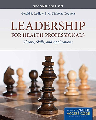 9781284266696: Leadership For Health Professionals With New Bonus Echapter: Theory, Skills, and Applications