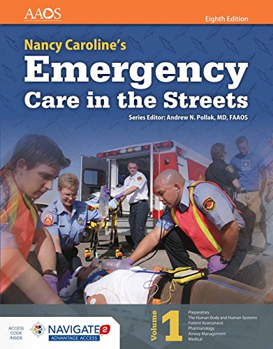 Nancy Caroline's Emergency Care In The Streets (Orange Book): AAOS