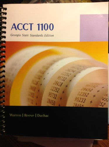 9781285007939: Acct 1100: Chapter 1-9 Financial Accounting