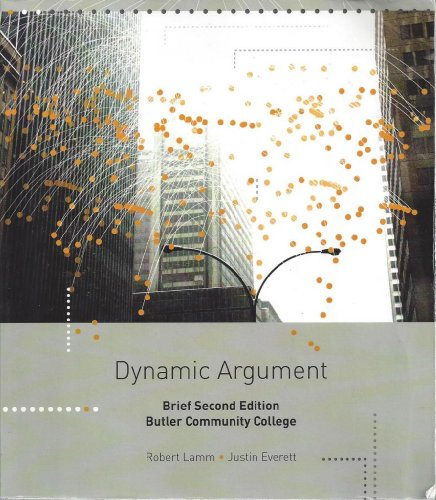 9781285008455: Dynamic Argument Brief Second Edition Butler Community College