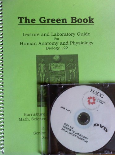 9781285008547: The Green Book: Lecture and Laboratory Guide For Human Anatomy and Physiology W/ DVD