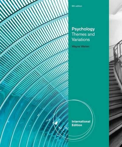 9781285009711: Psychology Themes & Variations