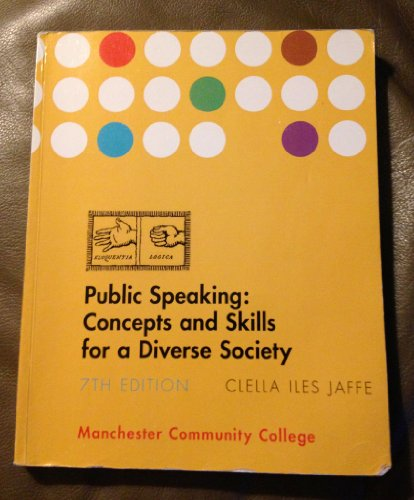 9781285010588: Public Speaking Concepts and Skills for a Diverse Society, 7th Edition