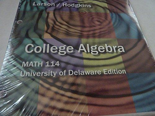 9781285025735: ACP College Algebra Udel