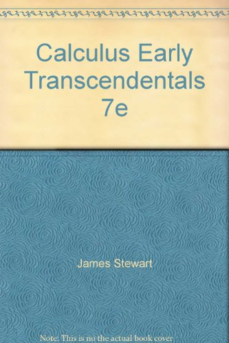 9781285025773: Calculus Early Transcendentals 7e