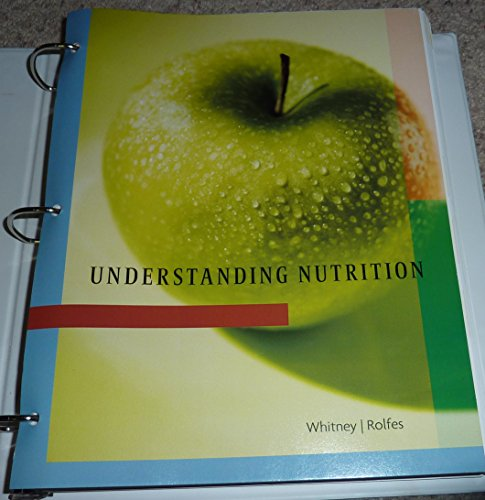 Understanding Nutrition (Understanding Nutrition) Understanding Nutrition (Understanding Nutrition), Eleanor Noss Whitney & Sharon Rolfes, Used, 9781285026060 Ships with Tracking Number! INTERNATIONAL WORLDWIDE Shipping available. May not contain Access Codes or Supplements. Buy with confidence, excellent customer service!