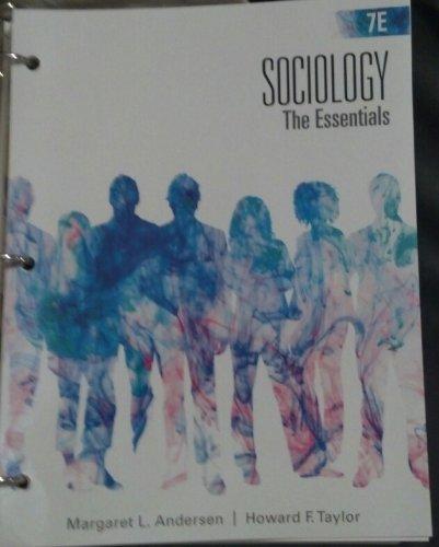 9781285027043: Sociology (The Essentials 7e)