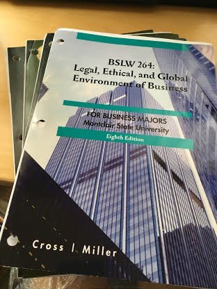 9781285031460: BSLW 264: Legal,ethical,and Global Emvironment of Busines (FOR BUSINESS MAJORS -Montclair auniversity)