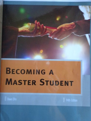 Becoming a Master Student w/mindlink eBook and: Dave Ellis