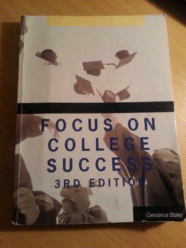 9781285032269: FOCUS ON COLLEGE SUCCESS (Focus on College Success)