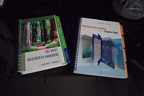 9781285032306: The Brief Wadsworth Handbook