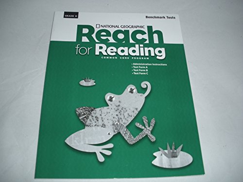 9781285037981: Reach for Reading Common Core Program, Grade K Benchmark Tests