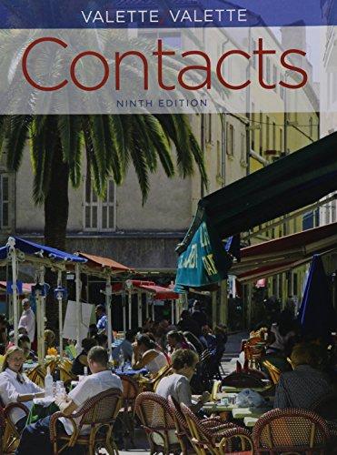 Bundle: Contacts: Langue et culture françaises, 9th: Valette, Jean-Paul; Valette,
