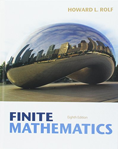 9781285044897: Bundle: Finite Mathematics, 8th + Enhanced WebAssign with eBook LOE Printed Access Card for One-Term Math and Science
