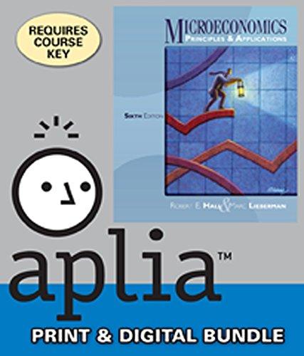 9781285047553: Bundle: Microeconomics: Principles and Applications, 6th + Aplia™, 1 term Access Code