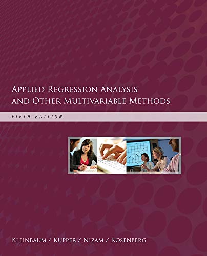 Applied Regression Analysis and Other Multivariable Methods: Kleinbaum, David G.,
