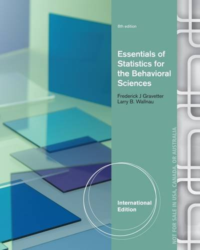 9781133956570 essentials of statistics for the behavioral 9781285051246 essentials of statistics for the behavioral sciences fandeluxe Image collections