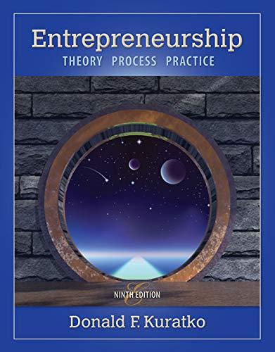 9781285051758: Entrepreneurship: Theory, Process, Practice