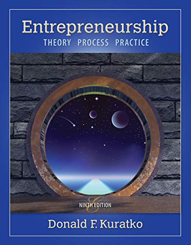 9781285051758: Entrepreneurship: Theory, Process, and Practice