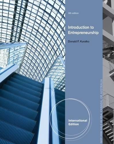 9781285052151: Introduction to Entrepreneurship, International Edition