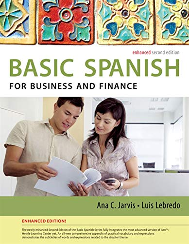 9781285052236: Spanish for Business and Finance Enhanced Edition: The Basic Spanish Series (World Languages)
