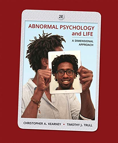 9781285052342: Abnormal Psychology and Life: A Dimensional Approach