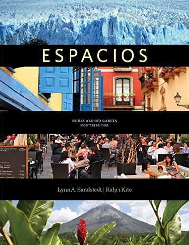 9781285052366: Espacios (New 1st Editions in Spanish)