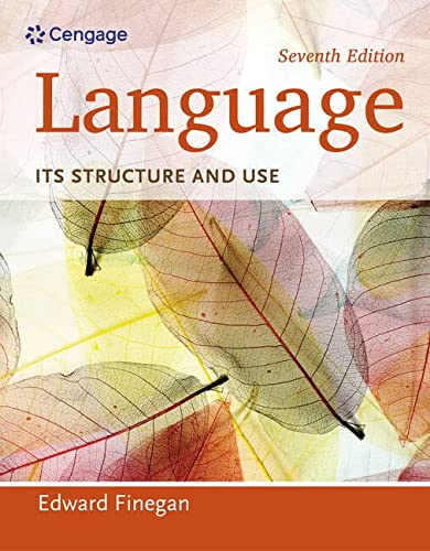 9781285052458: Language: Its Structure and Use