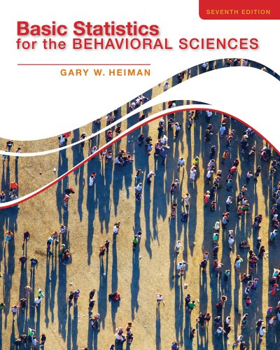 9781285054865: Cengage Advantage Books: Basic Statistics for the Behavioral Sciences
