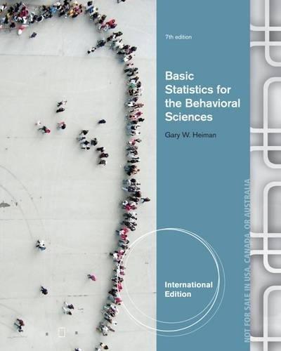 9781285055749: Basic Statistics for the Behavioral Sciences, International Edition
