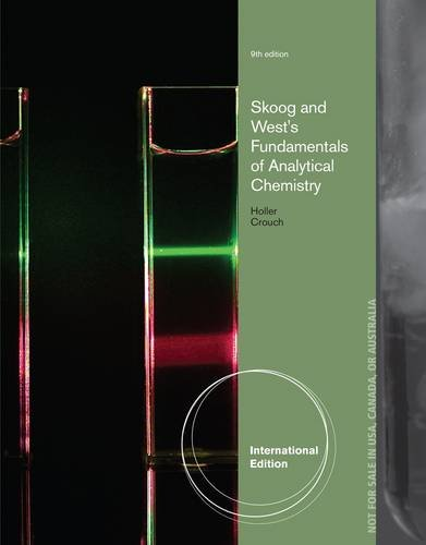 9781285056241: Fundamentals of Analytical Chemistry