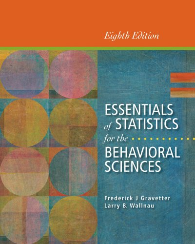 9781285056340: Cengage Advantage Books: Essentials of Statistics for the Behavioral Sciences, Loose-leaf Version