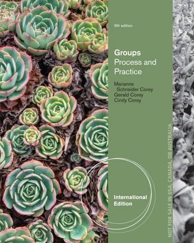 9781285057255: Groups: Process and Practice, International Edition