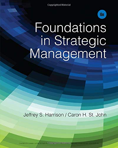 9781285057392: Foundations in Strategic Management