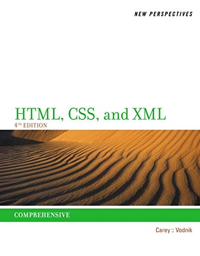 9781285059099: New Perspectives on HTML, CSS, and XML, Comprehensive