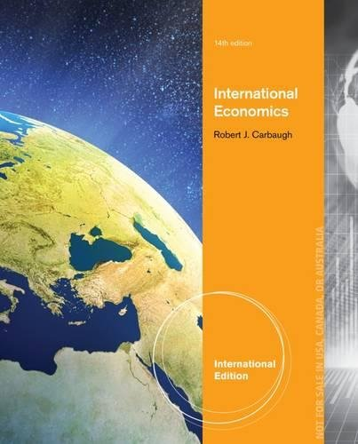 9781285060316: International Economics, International Edition