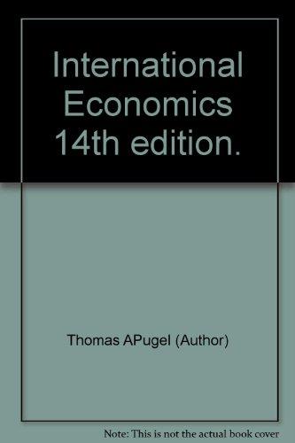 9781285060347: International Economics 14th edition.