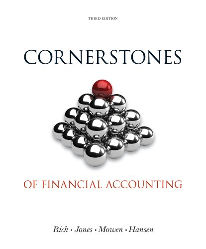 9781285060668: Cornerstones of Financial Accounting (with 2011 Annual Reports: Under Armour, Inc. & VF Corporation)