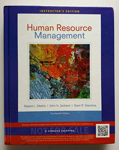 9781285061139: Ie Human Resource Mgmt